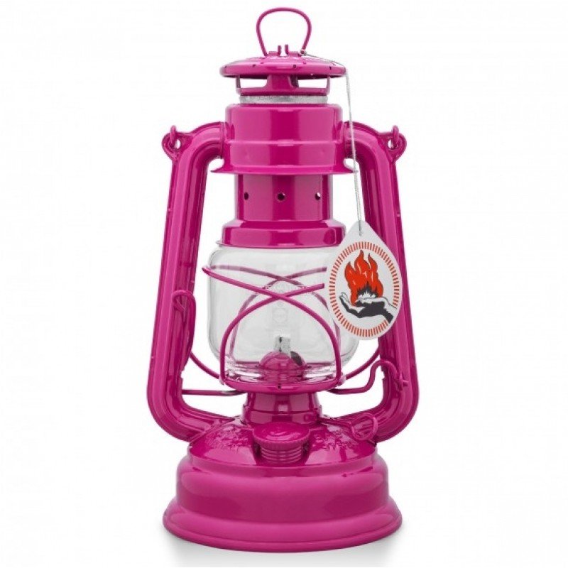 Feuerhand Hurricane Lantern 276 (Telemagenta)