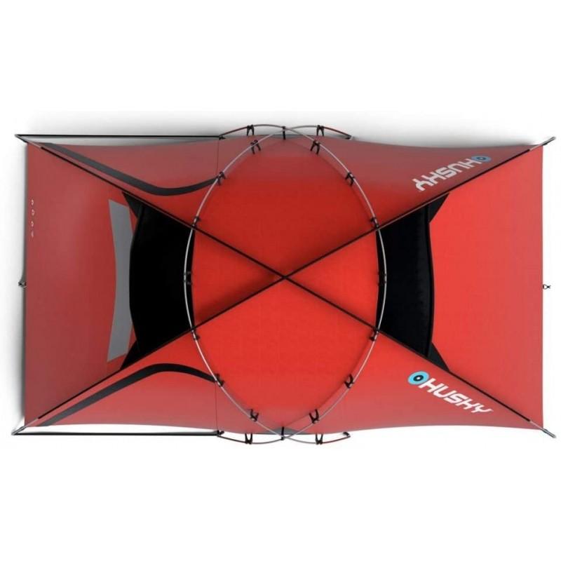 Husky Felen Çadır (2+1 Kişilik) (5 Mevsim)(Kırmızı)