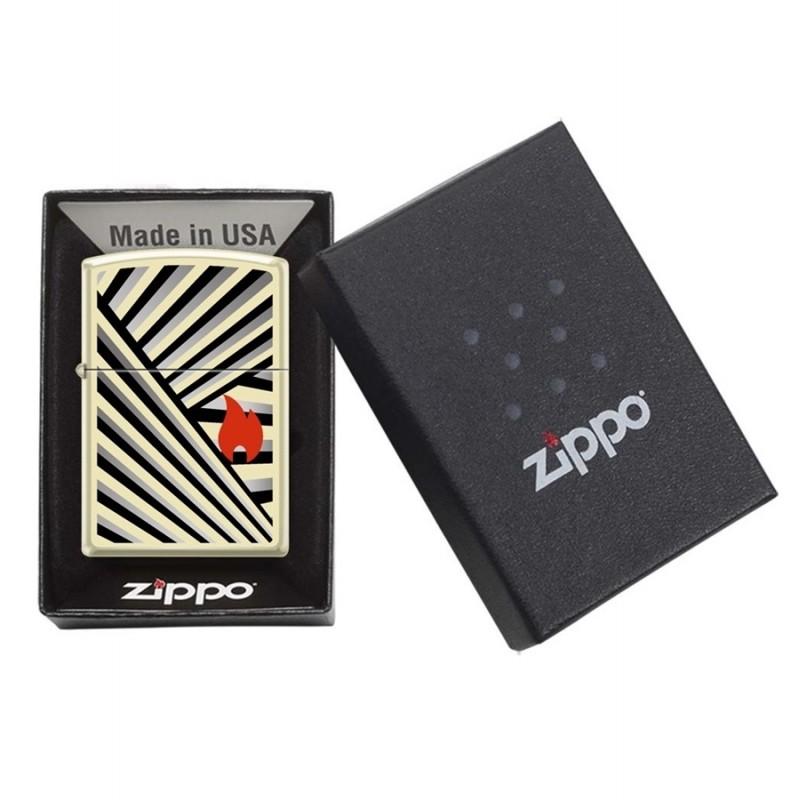 Zippo Rays Design