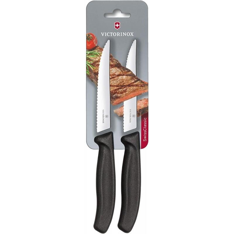 Victorinox Swiss Classic Pizza/Steak Knife (2 Parça) (Tırtıklı)
