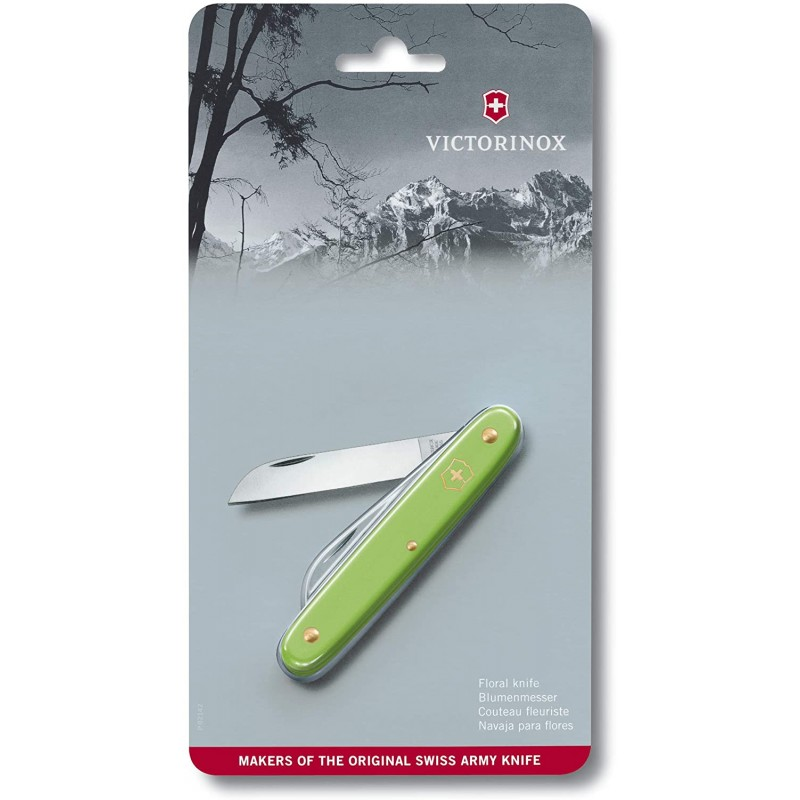 Victorinox Floral Knife (Green)