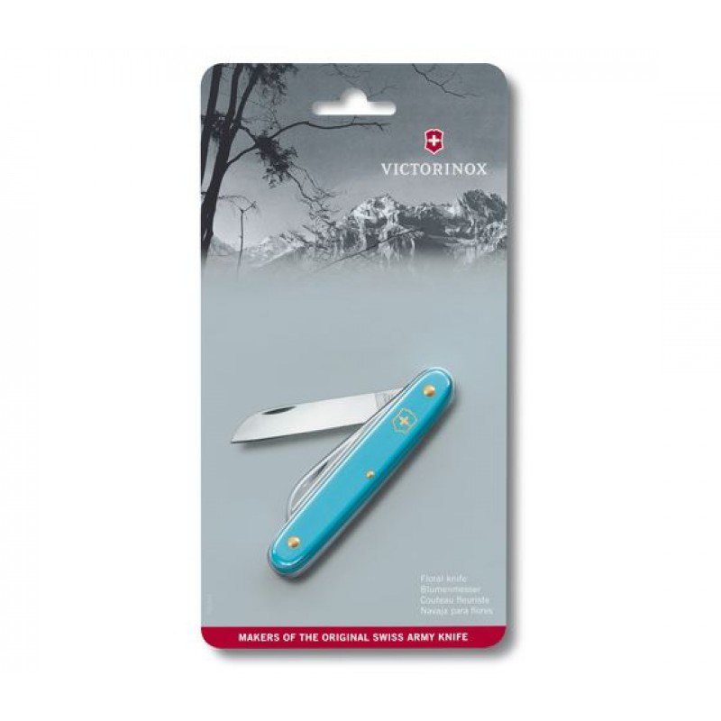 Victorinox Floral Knife (Light Blue)