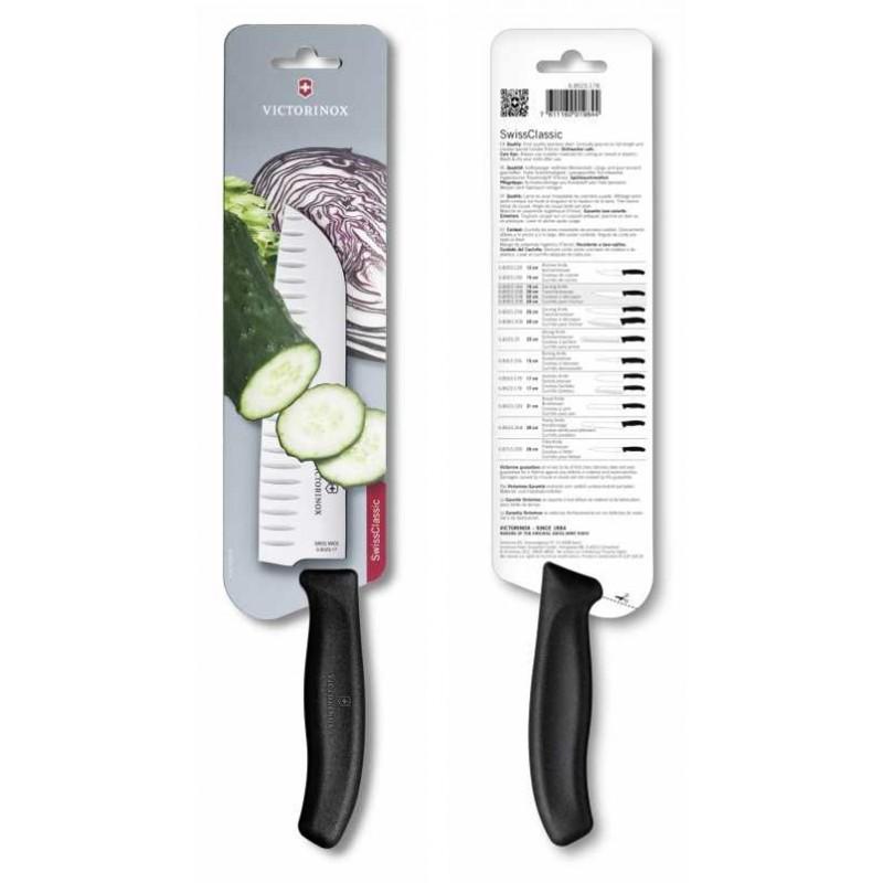 Victorinox Swiss Classic Santoku Knife (17 cm) (Oluklu)