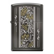 Zippo Vintage Floral Design