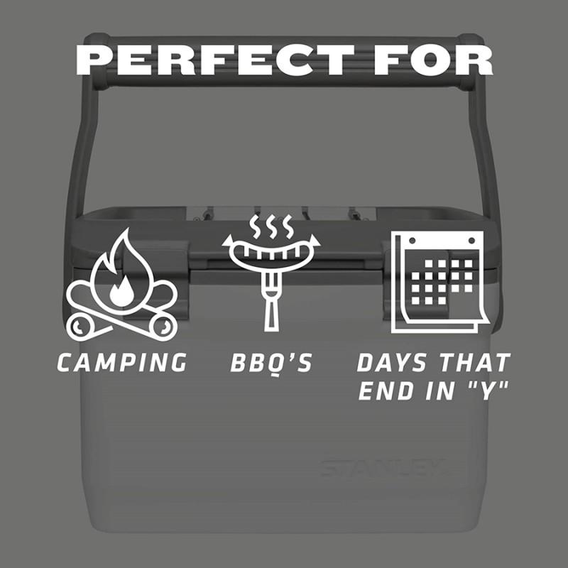 Stanley Adventure Taşınabilir Soğutucu Kamp Buzluğu 6,6 LT (Beyaz)