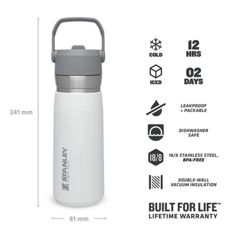 Stanley Go Ice Flow Water Bottle 0.65 LT (Polar)