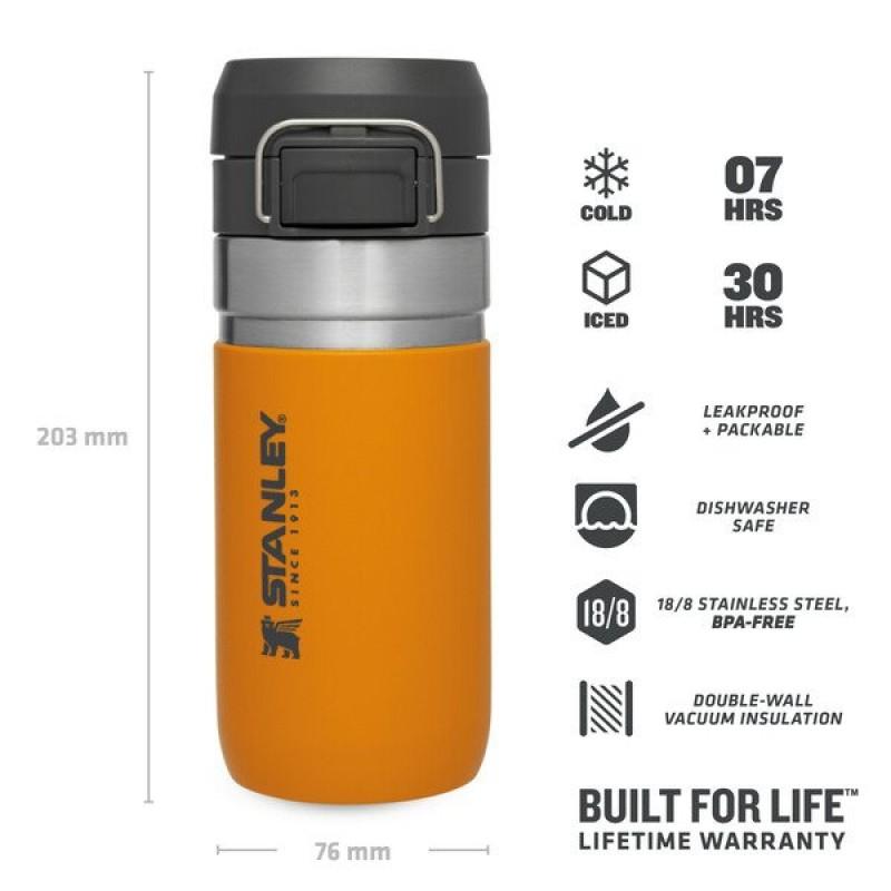 Stanley Go Quick Flip Water Bottle 0.47 LT (Saffron)