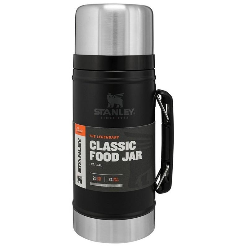 Stanley Classic Vakumlu Yemek Termosu - 0.94 LT (Siyah)