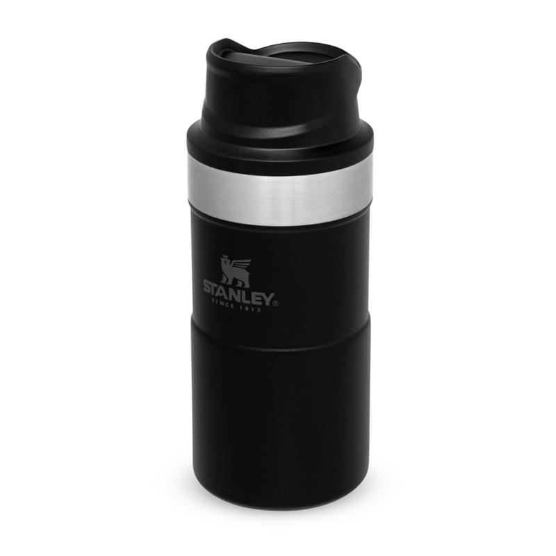 Stanley Classic Trigger-Action Travel Mug - 0.25 LT (Siyah)