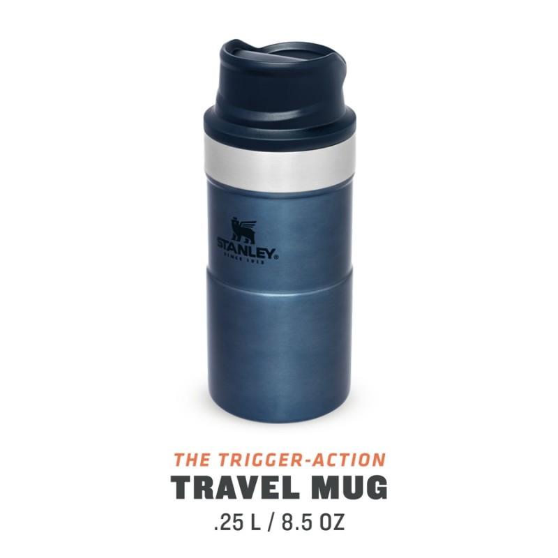 Stanley Classic Trigger-Action Travel Mug - 0.25 LT (Gece Mavisi)