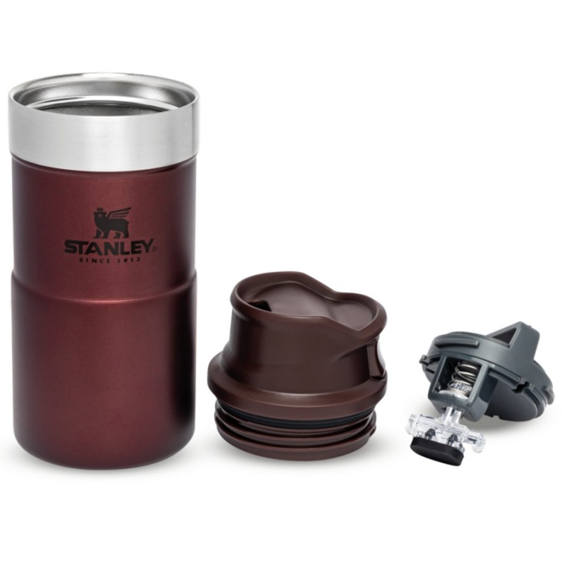 Stanley Classic Trigger-Action Travel Mug - 0.25 LT (Bordo)