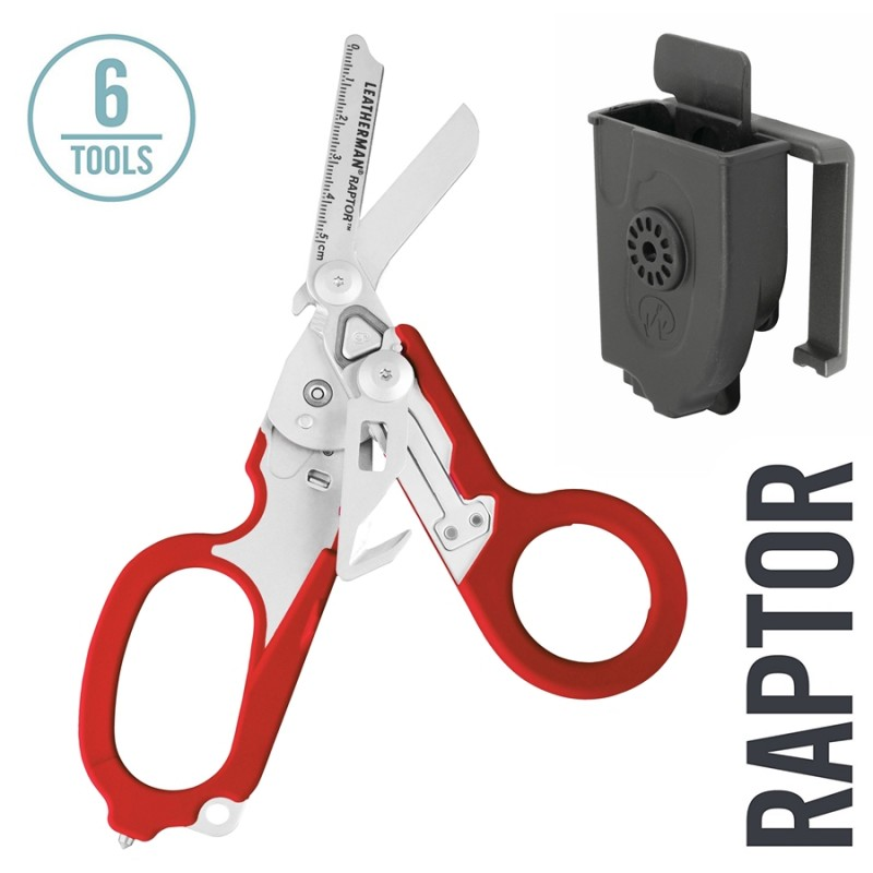 Leatherman Raptor™ Red