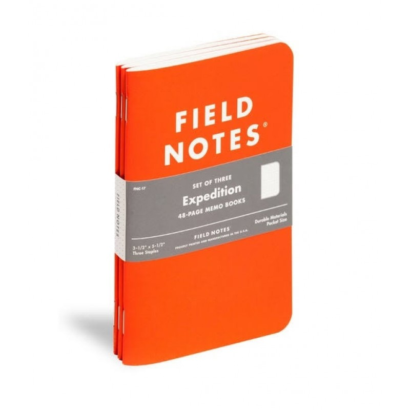 Field Notes® Expedition Three Waterproof Notebooks