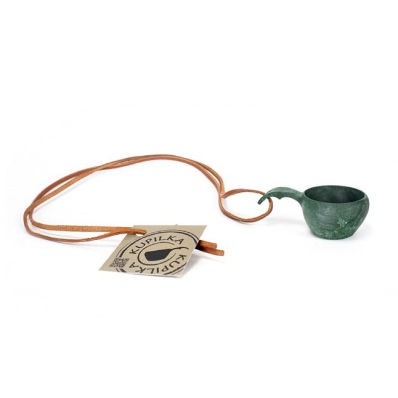 Kupilka No:1 Mini with Leather Cord (Conifer)
