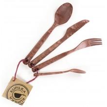 Kupilka Cutlery Set (Cranberry)