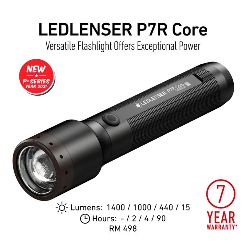 Led Lenser P7R Core (1400 Lümen)