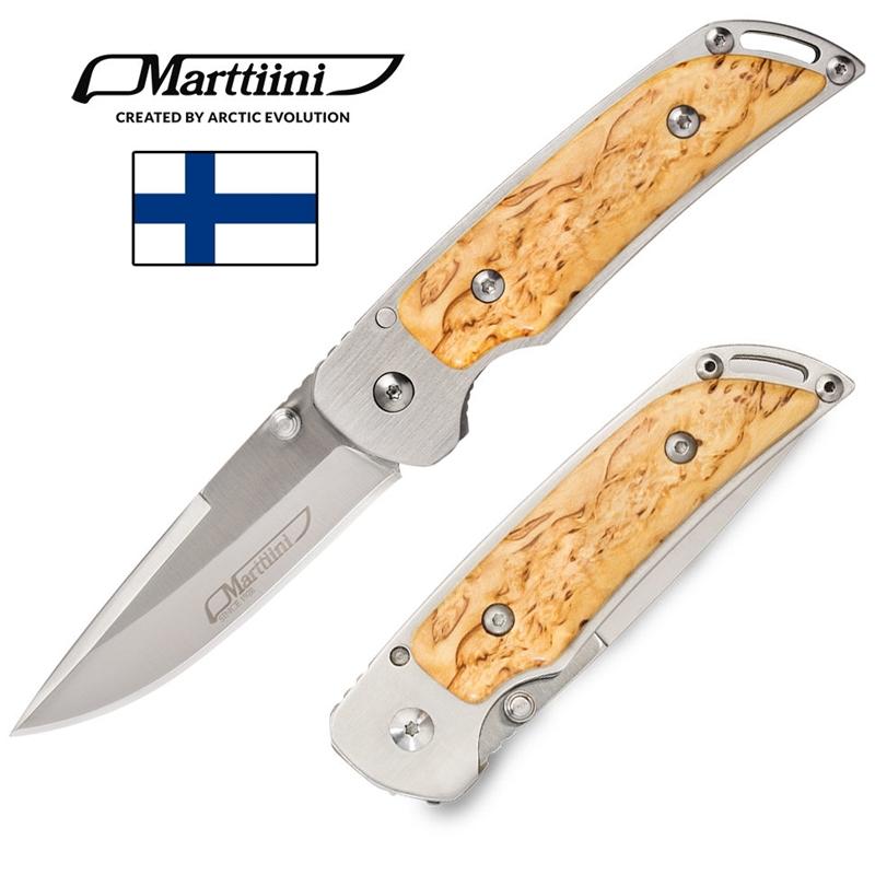 Marttiini Mfk Çakı MFK-CB 915111 (Huş Ağacı)