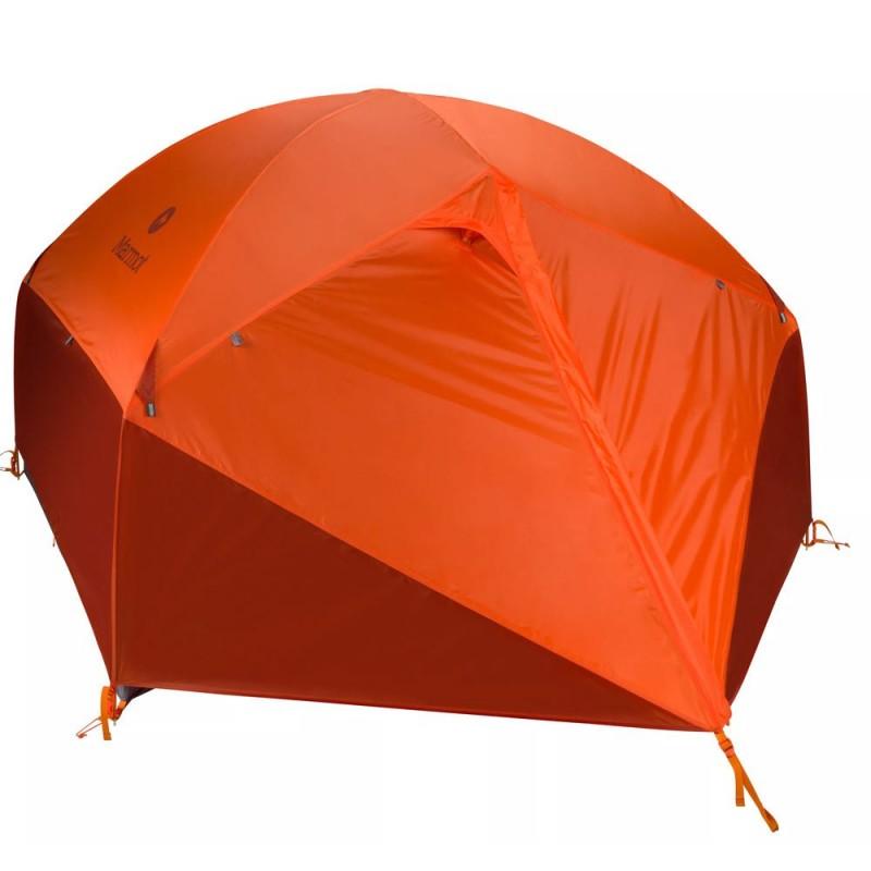Marmot Limelight 3P Çadır (3 Kişilik) (4 Mevsim) (Cinder/Rusted Orange)