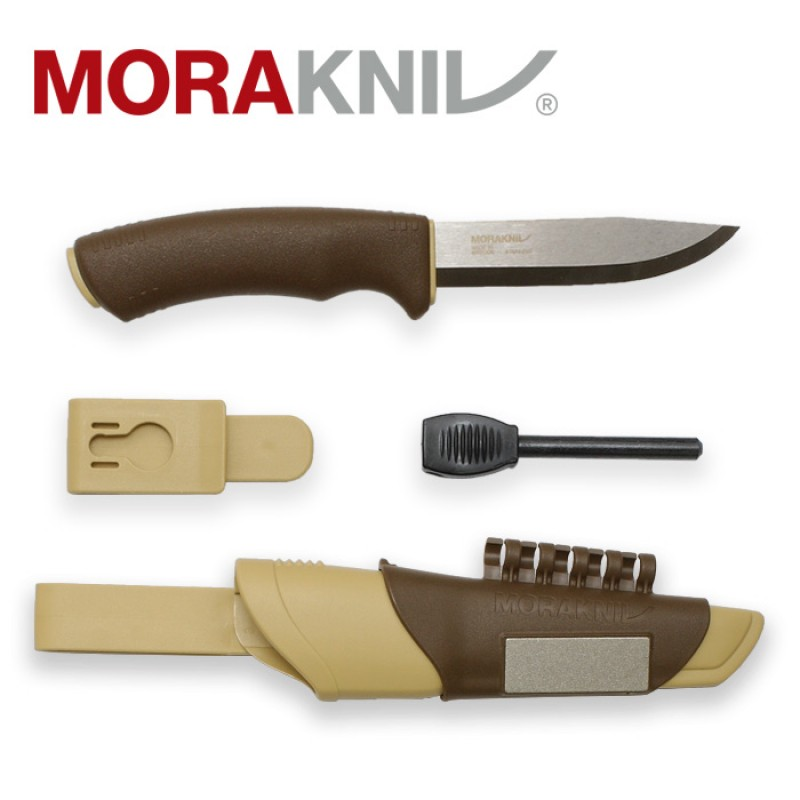 Morakniv Bushcraft Survival S (Stainless) (Desert)