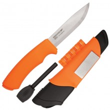 Morakniv Bushcraft Survival S (Stainless) Hi-Vis Orange