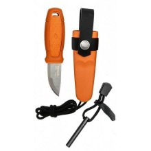 Morakniv Eldris Knife with Firestarter Kit (Burnt Orange)