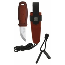 Morakniv Eldris Knife with Firestarter Kit (Red)