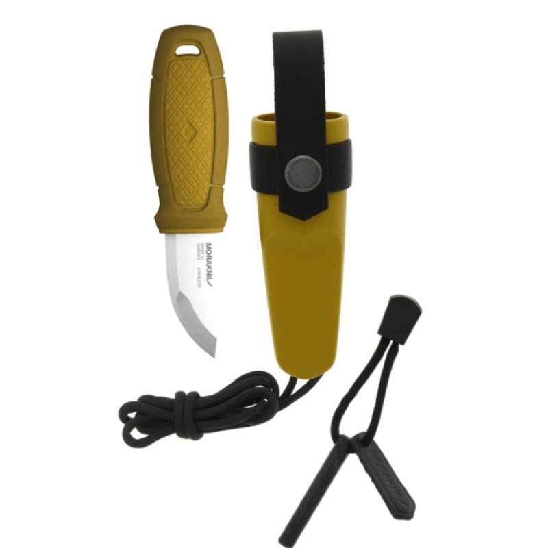 Morakniv Eldris Knife with Firestarter Kit (Yellow)