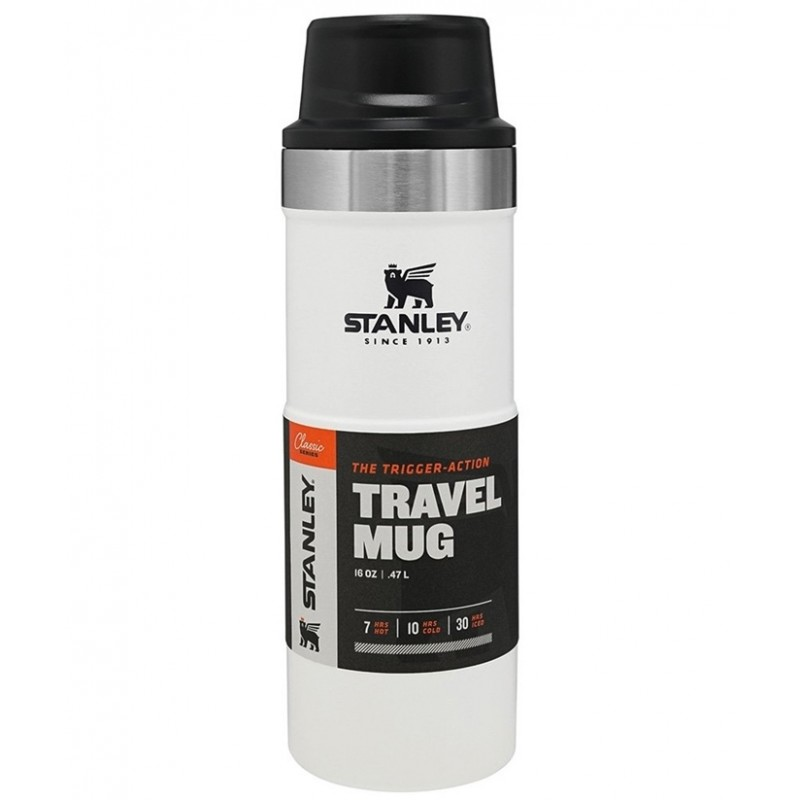 Stanley Classic The Trigger-Action Travel Mug 0,47 LT (Polar)