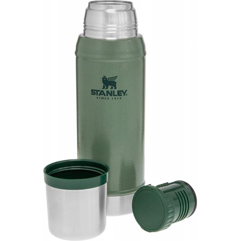 Stanley Klasik Vakumlu Çelik Termos 0.75 LT (Yeşil)