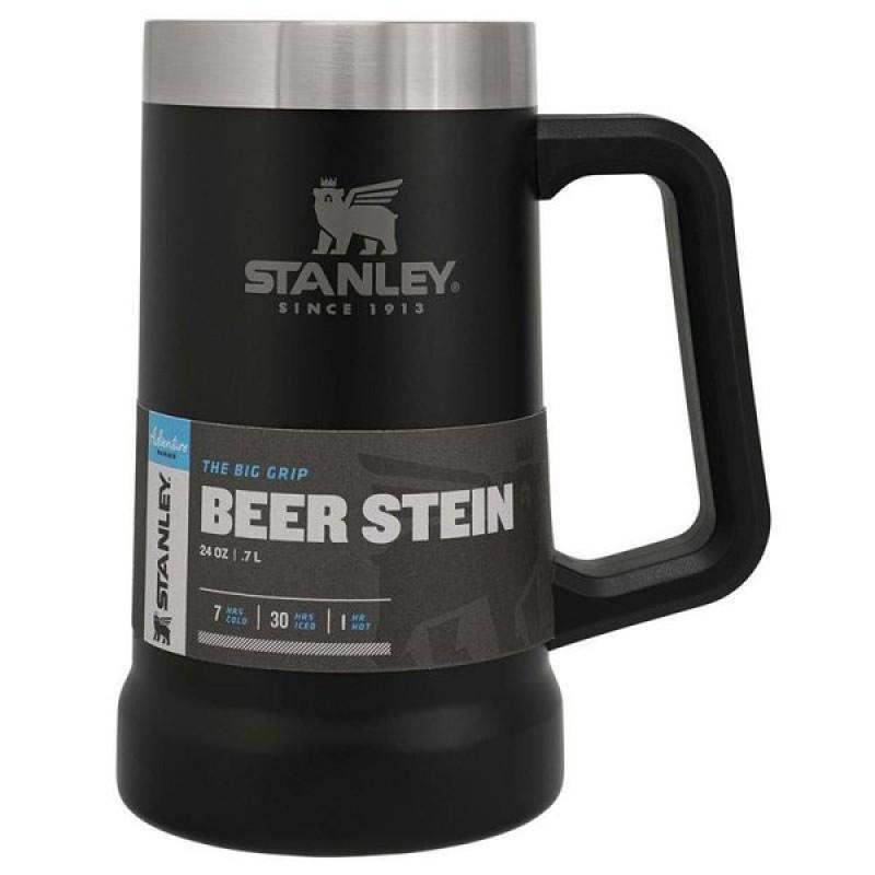 Stanley Adventure Bira Bardağı 0.70 LT (Mat Siyah)