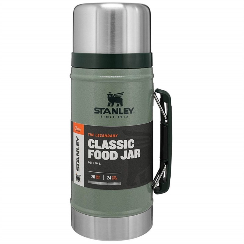 Stanley Classic Vakumlu Yemek Termosu - 0.94 LT (Yeşil)