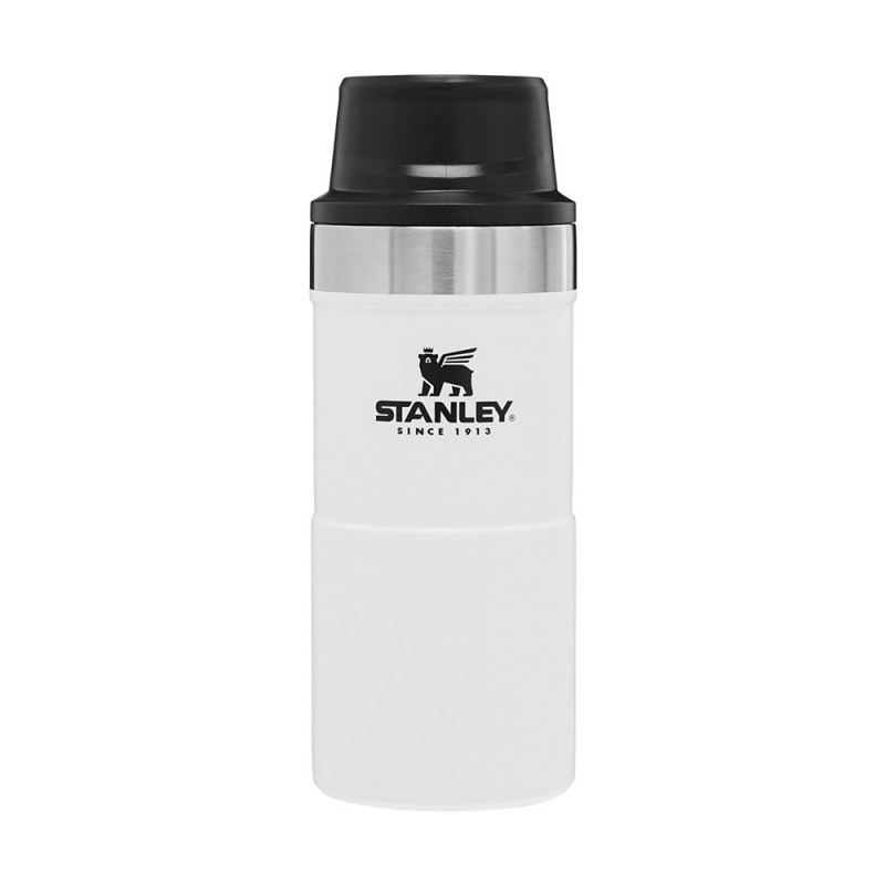 Stanley Classic Trigger-Action Travel Mug - 0.35 LT (Polar)