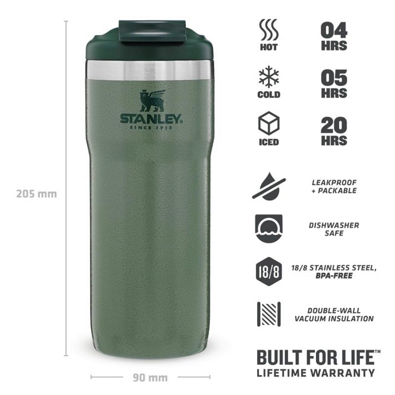 Stanley Classic Twin-Lock Travel Mug 0.47 LT (Yeşil)