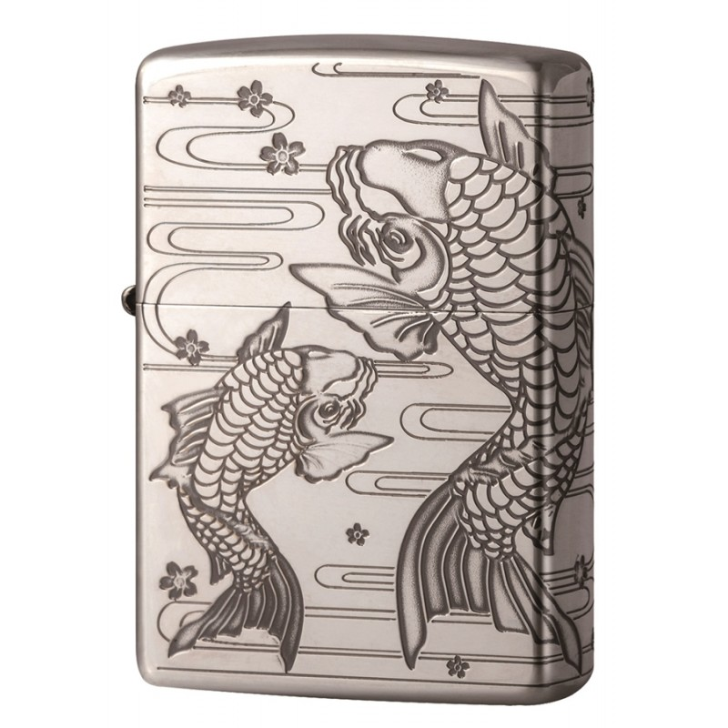 Zippo Good Things Paired - Silver Trout