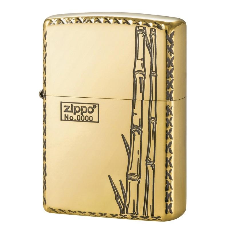 Zippo Bamboo Oxidized