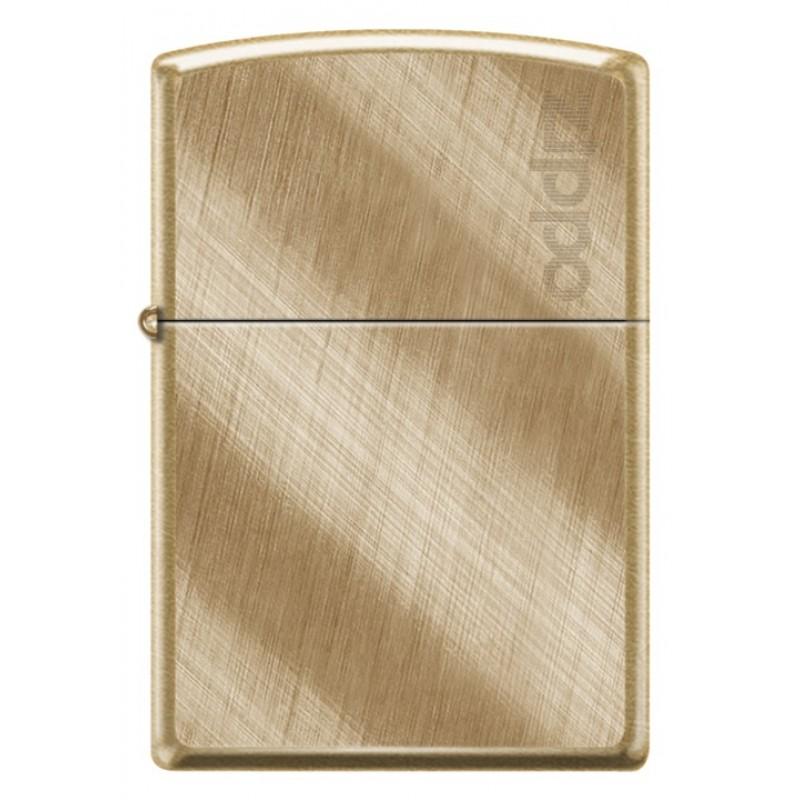 Zippo Classic Diagonal Weave Brass