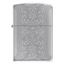 Zippo Engraved Flowers
