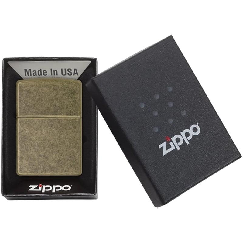 Zippo Classic Antique Brass