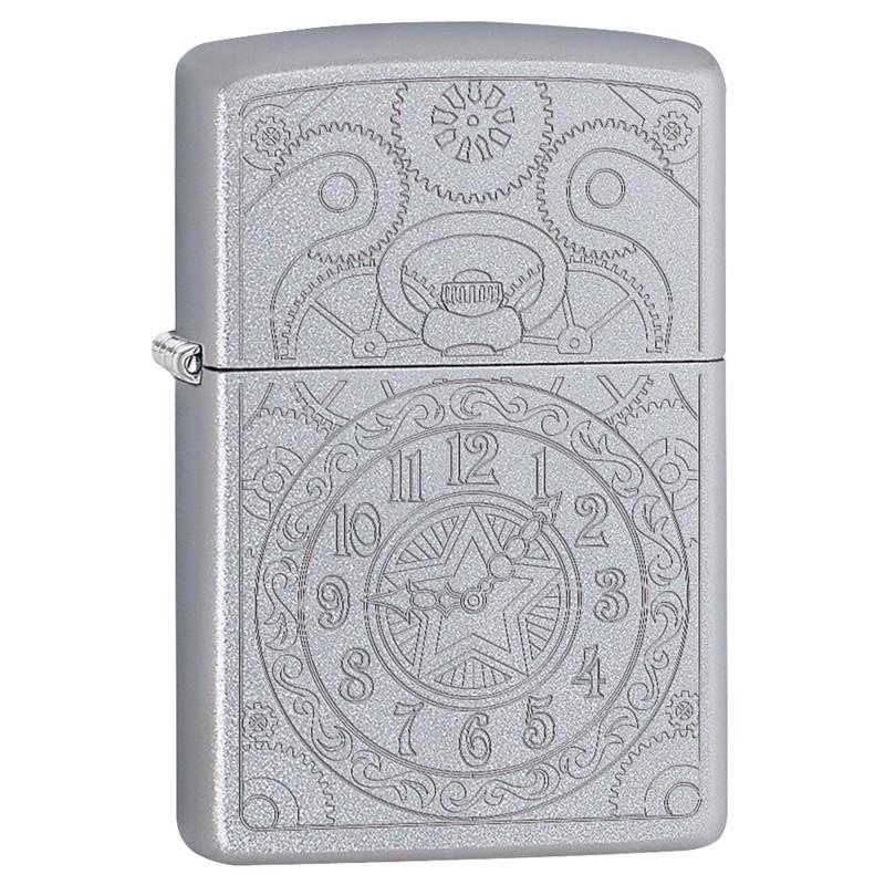 Zippo Clock Gadget Design