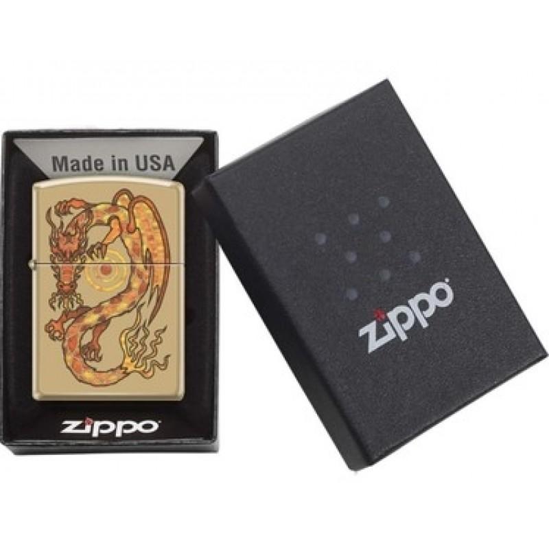 Zippo Fusion Dragon Design