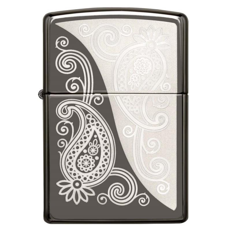 Zippo Paisley Design
