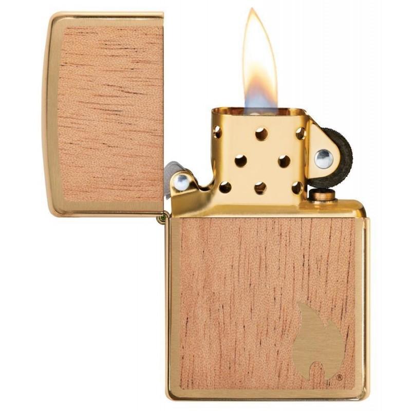 Zippo Woodchuck Flame