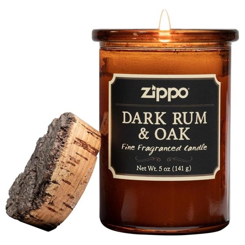 Zippo Spirit Candle (Dark Rum & Oak)