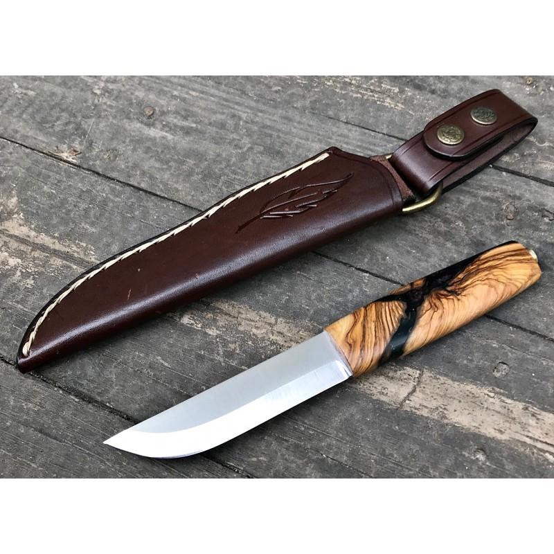 Viking Puukko (Zeytin/Epoksi)