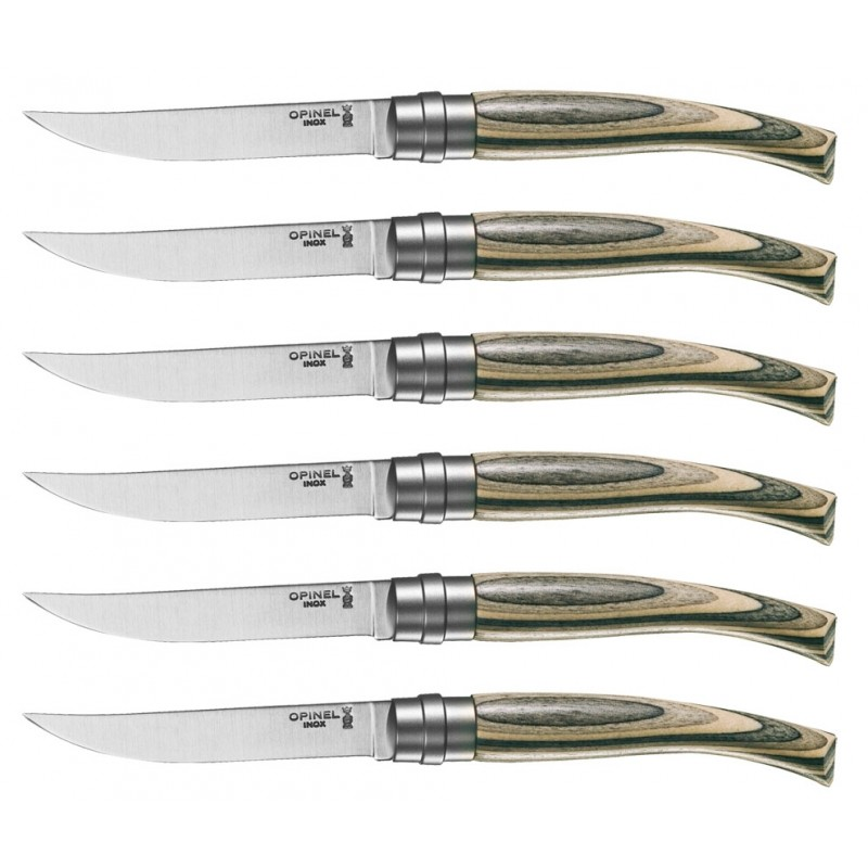 Opinel (İnox) Fileto Bıçak Seti (6 Parça)