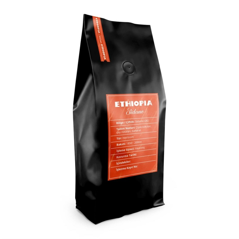 A Roasting Lab Ethiopia Sidamo Filtre Kahve (250 Gr.)