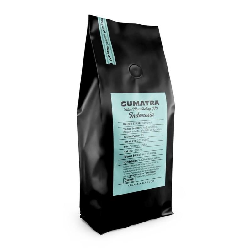 A Roasting Lab Indonesia Sumatra Blue Mandheling Filtre Kahve (250 Gr.)