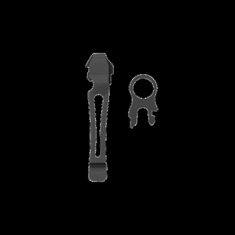 Leatherman Çıkarılabilir Cep Klipsi / Kordon Halkası (Black)