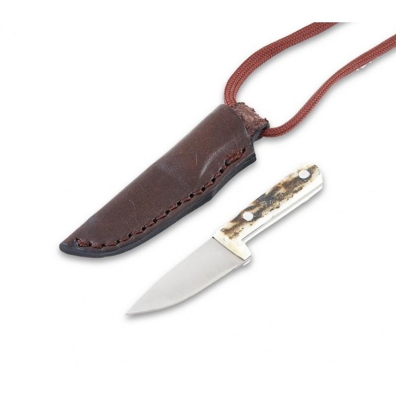 Kolye Bıçak (Geyik Boynuzu Kabza)