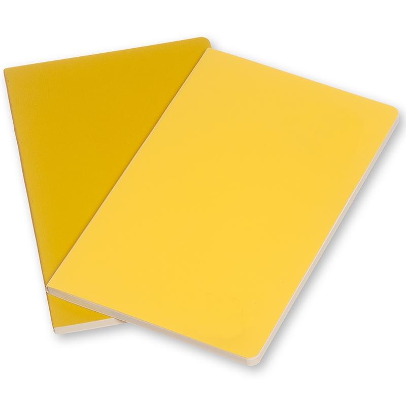 Moleskine Volant 2'li Cep Boy Çizgili Defter (Sarı)